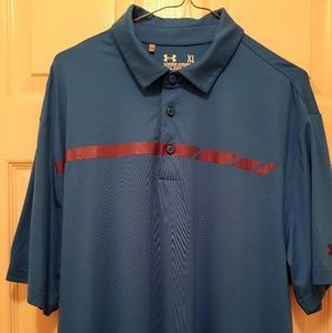 Men's UNDER ARMOUR golf polo (XL)